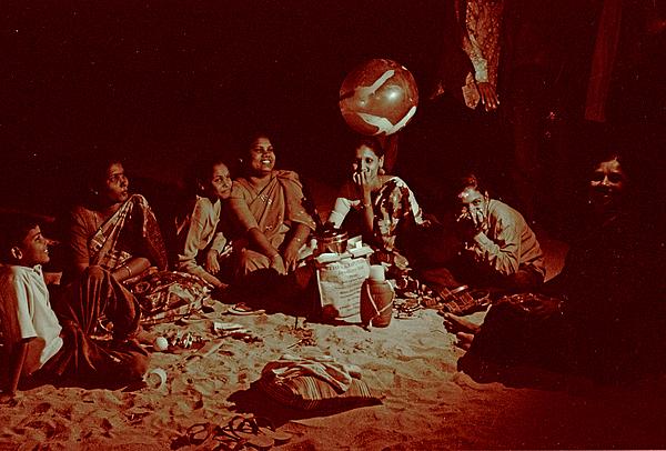 India Photograph - Chowpatty by David Wenman