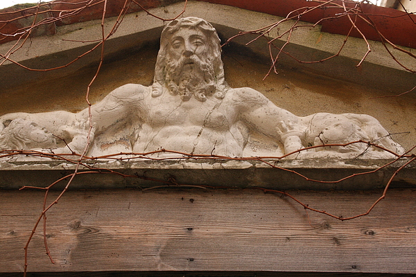 Venice Photograph - Christ On Shrine In Venice by Michael Henderson
