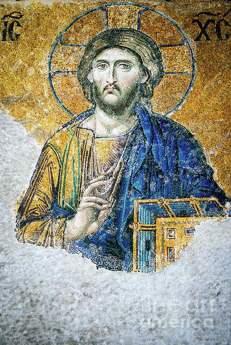 Christ Photograph - Christ Pantocrator by Dean Harte