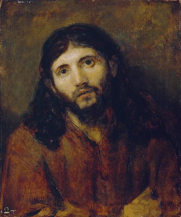 Christ Photograph - Christ by Rembrandt Harmensz van Rijn