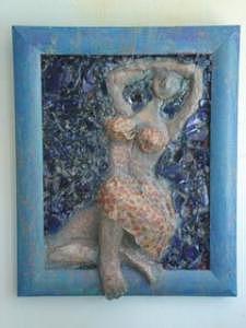 Christine Painting by Ellen Nora Goldstein