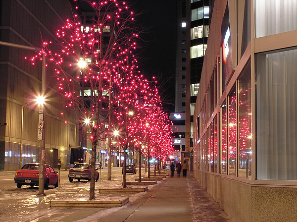 Christmas Photograph - Christmas On Ottawa Street by Richard Mitchell