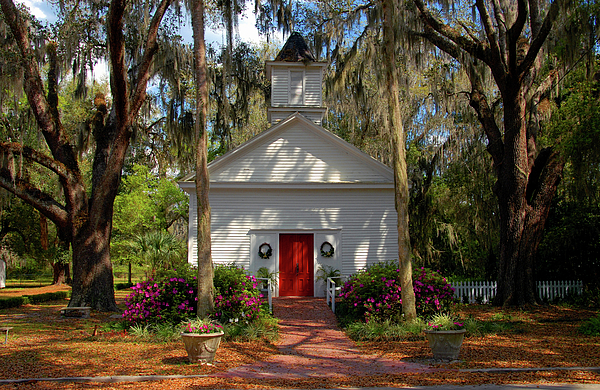 Church Photograph - Church In Spring by David Lee Thompson