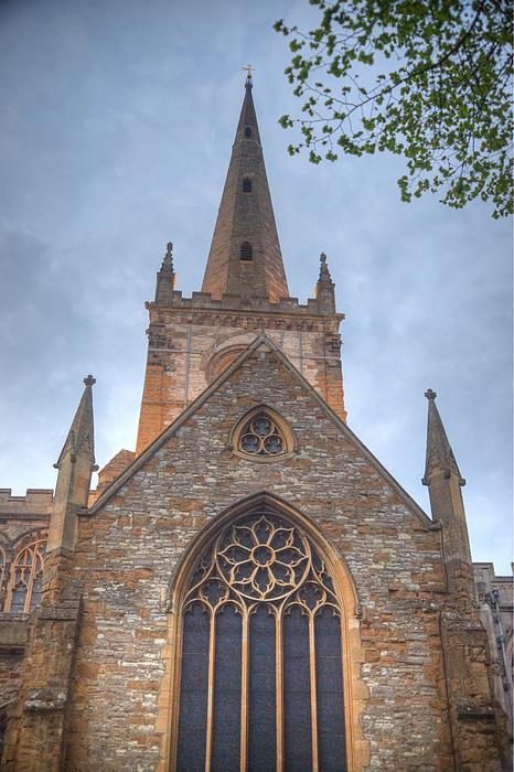 Church Photograph - Church Of The Holy Trinity Stratford Upon Avon 1 by Douglas Barnett