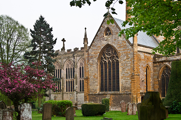 Church Photograph - Church Of The Holy Trinity Stratford Upon Avon 3 by Douglas Barnett