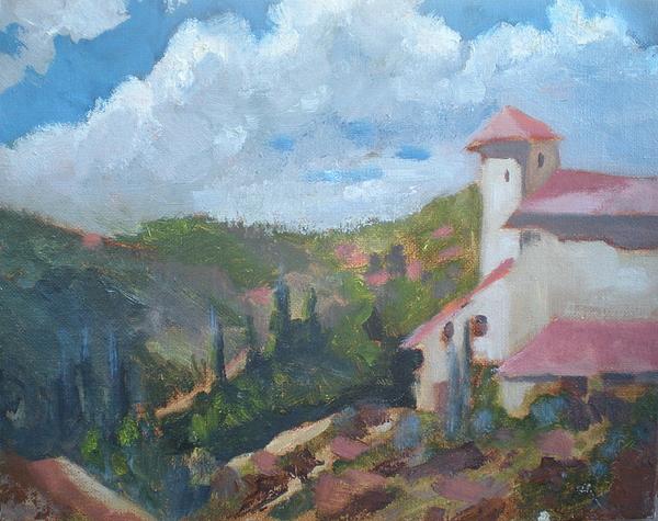 Cielo Villa Painting by Bryan Alexander