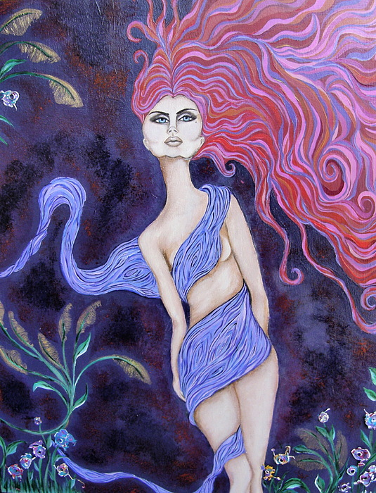 Fairy Painting - Cimmerian by Samantha Kulchar