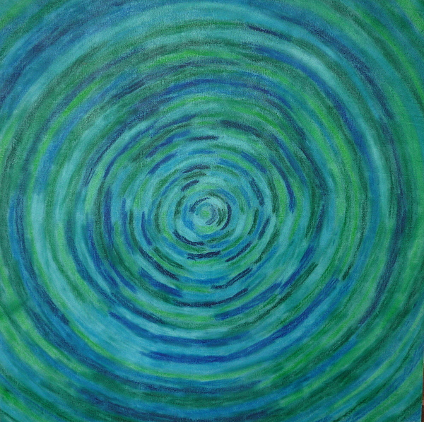 Circles Painting - Circle Of Life by Gregory Young