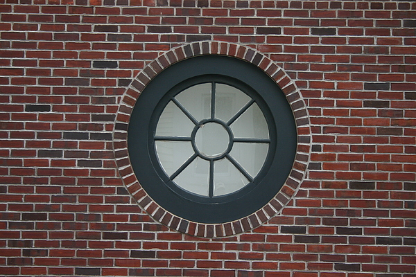 Circle Window Photograph by Dennis Curry