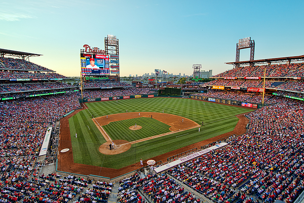 Mark Whitt Photograph - Citizens Bank Park - Philadelphia Phillies by Mark Whitt