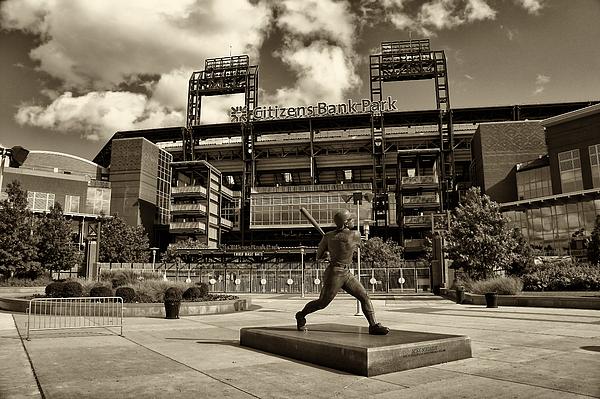 Baseball Photograph - Citizens Park 1 by Jack Paolini