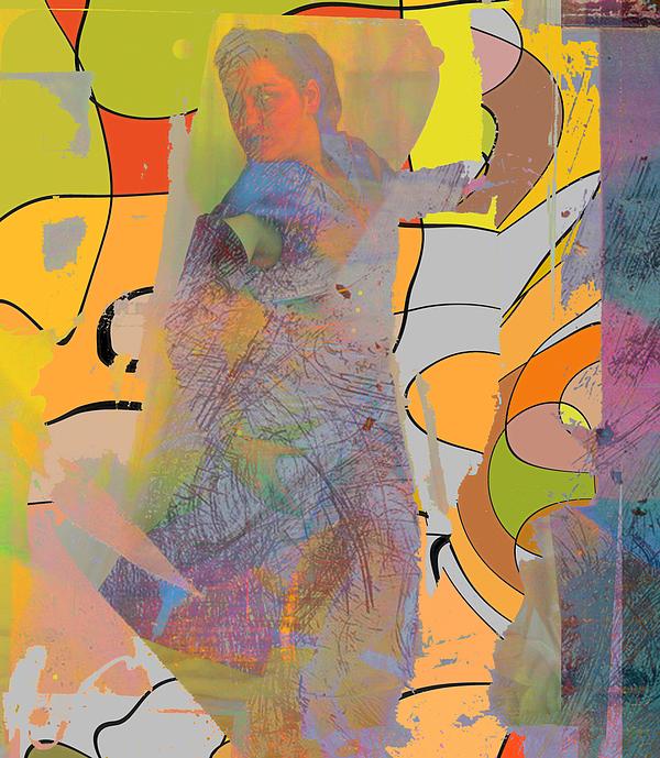 Girl Digital Art - Citrus by Adam Kissel