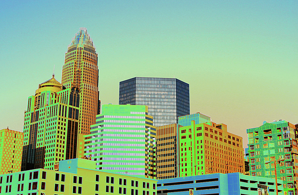 Charlotte Photograph - City Of Colors by Karol Livote