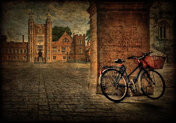 Texture Photograph - City Wheels by Evelina Kremsdorf