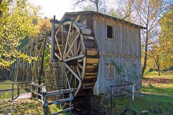 Waterwheel Photograph - Civil War Battle Site by Scarlett Chambers