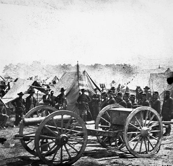 Civil War: Howitzer Gun by Granger