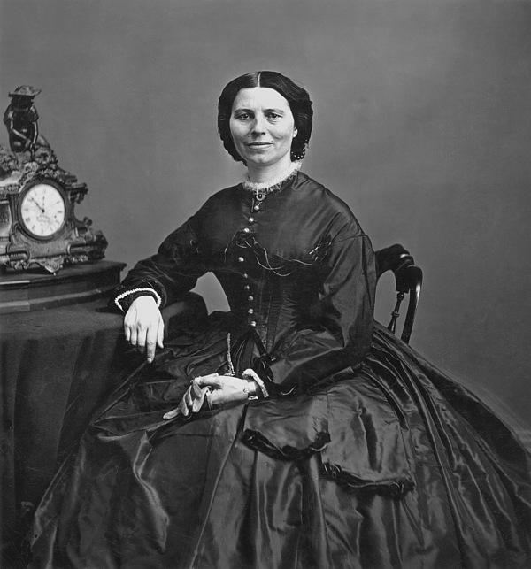 1866 Photograph - Clara Barton (1821-1912) by Granger