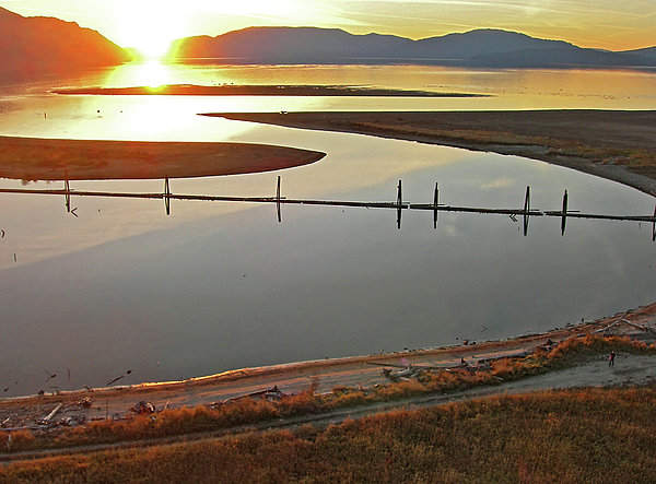 Clark Fork Photograph - Clark Fork Delta by Jerry Luther