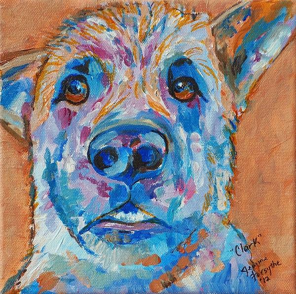 Clark Painting - Clark by Jeanne Forsythe