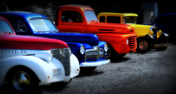 Car Photograph - Classics by Perry Webster