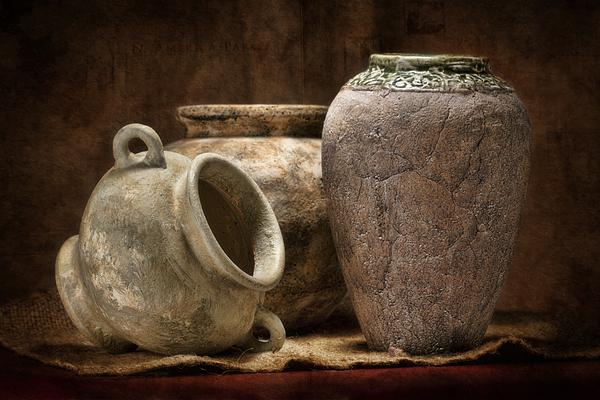 Pottery Photograph - Clay Pottery II by Tom Mc Nemar