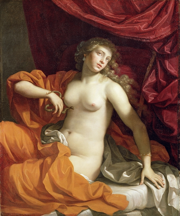 Cleopatra Painting - Cleopatra by Benedetto the Younger Gennari
