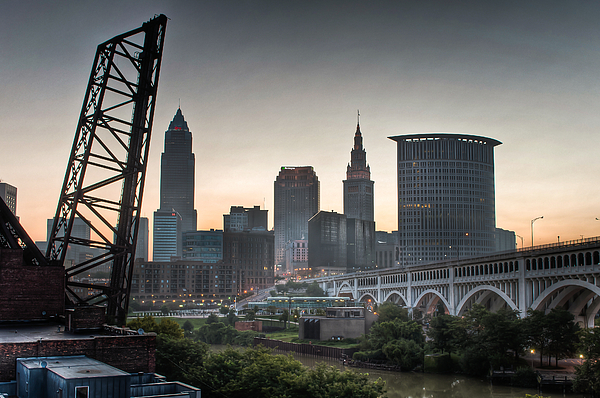 Alep Photograph - Cleveland Awakens by At Lands End Photography