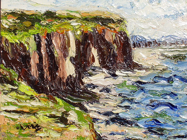 Abstract Paintings Painting - Cliff by Seon-Jeong Kim