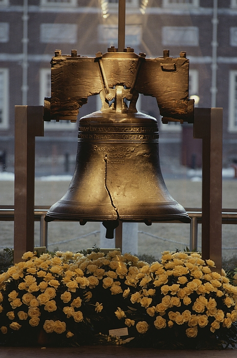 Liberty Bell Photograph - Close View Of The Liberty Bell by Kenneth Garrett