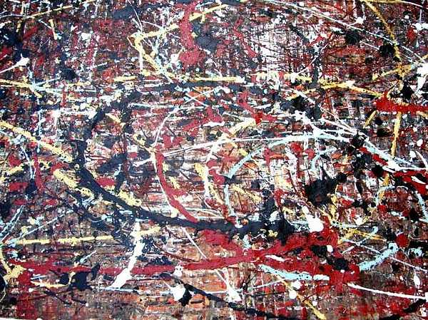 Abstract Painting - Closer Than Ever by Diane Detalle