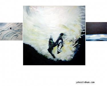 Swimmer Painting - Closure by John  Stidham