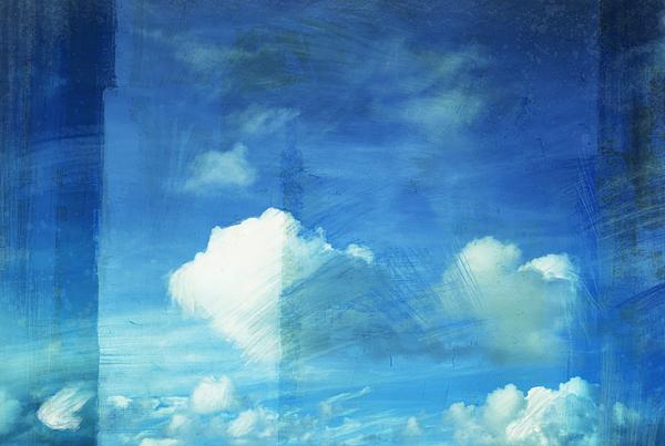 Abstract Painting - Cloud Painting by Setsiri Silapasuwanchai