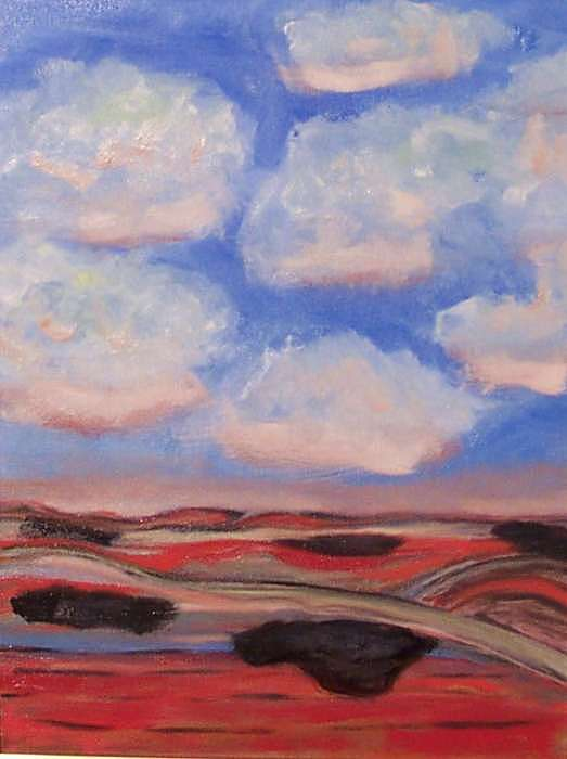 Clouds Painting by Adair Robinson