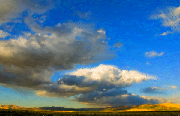 Landscape Photograph - Clouds by Betty LaRue