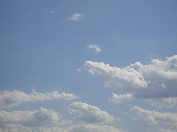 Clouds Photograph - Clouds In The Sky Two by Daniel Henning