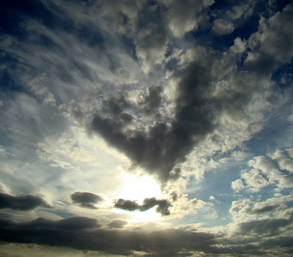 Clouds Photograph - Clouds Two by Ana Villaronga
