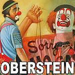 Chuck Oberstein Mixed Media - Clown by Chuck Oberstein