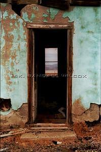 Coaldale Doorway Photograph by K Randall Wilcox