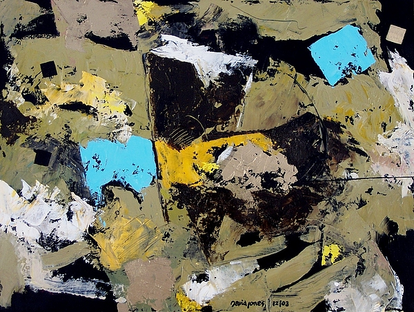 Abstract Painting - Coffee Crunch by Dave Jones