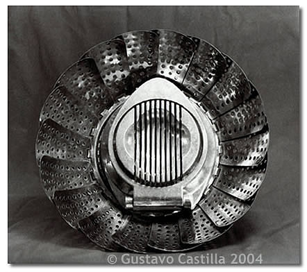 Contact Print Photograph - Colander And Egg Slicer  by Gustavo Castilla