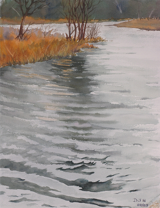Cold Water Painting by Debbie Homewood