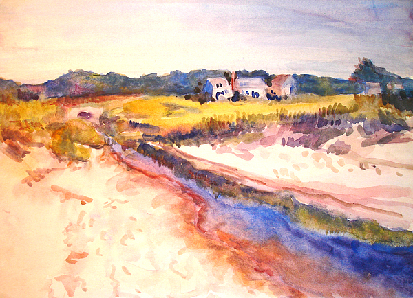 Landscape Painting - Cole Brook by Joyce Kanyuk
