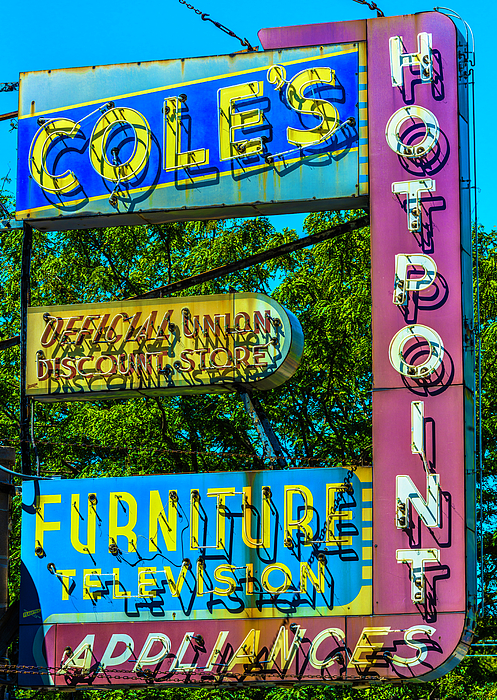 Coles Furniture Co Lincoln Ave Dsc4097 Photograph By Raymond Kunst