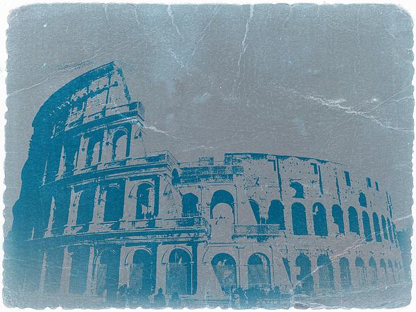 Coliseum Photograph - Coliseum by Naxart Studio
