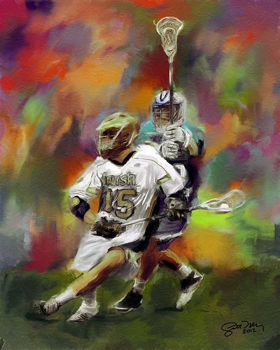 Lacrosse Paintings Canvas