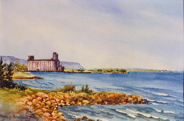 Georgian Bay Painting - Collingwood-terminal by Nancy Newman