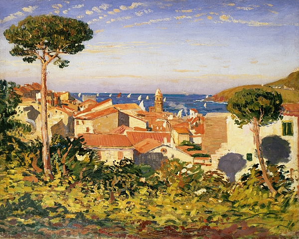 Collioure Painting - Collioure by James Dickson Innes