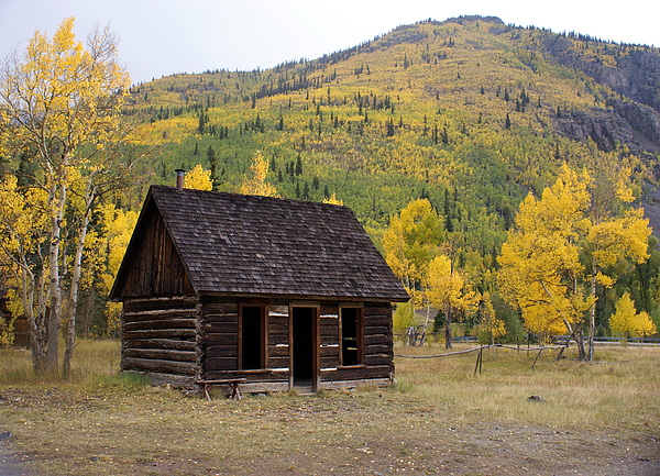 Mountain Photograph - Colorado Cabin by Marty Koch
