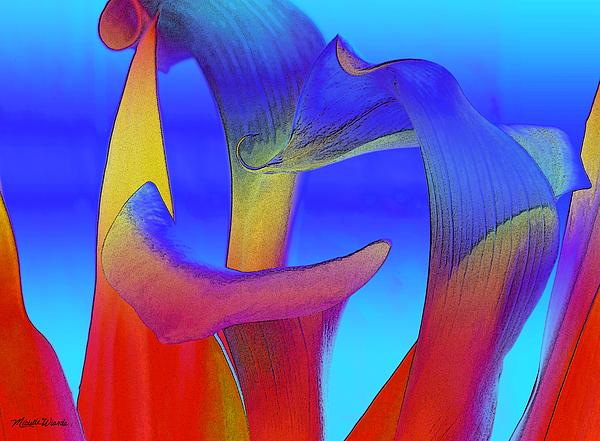 Calla Photograph - Colorful Crowd by Michelle Wiarda
