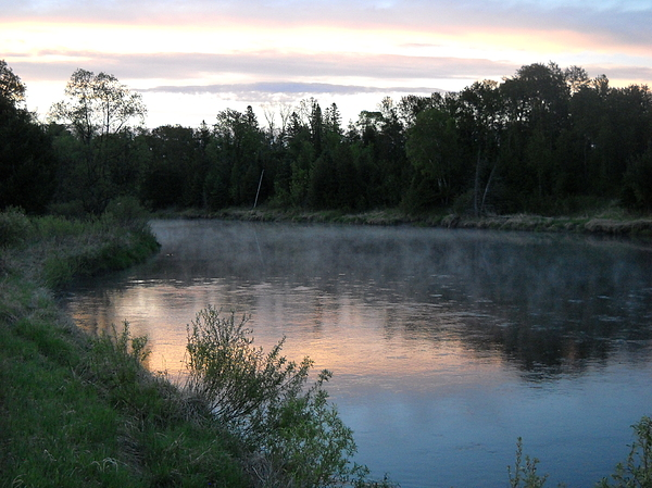 Fog Photograph - Colorful Dawn Reflections by Kent Lorentzen